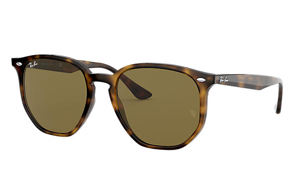 Ray-Ban RB4306 Beige with Brązowy Gradalne lens