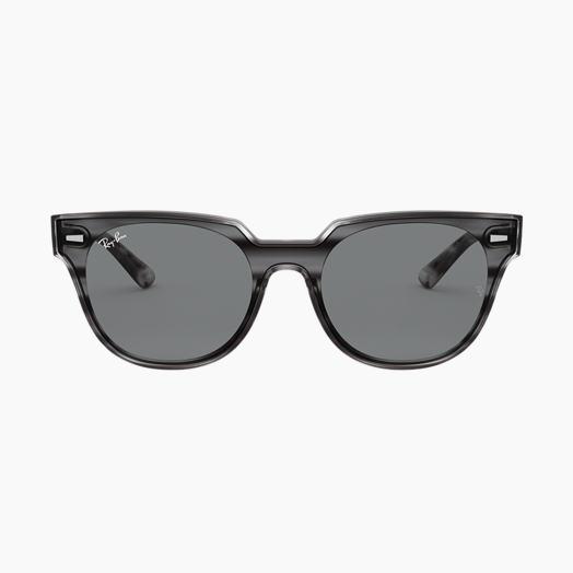 3d5cf7177e1303 Ray-Ban BLAZE METEOR Striped Grey Havana with Szary Classic lens