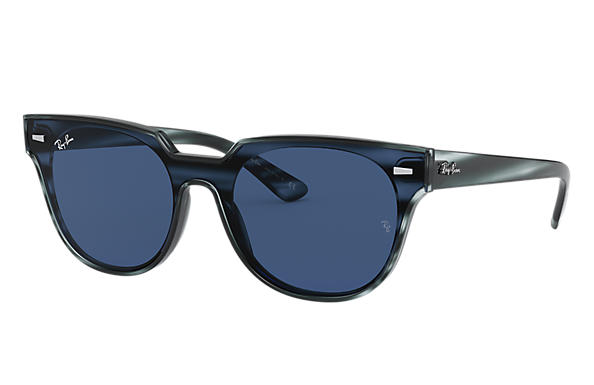 Ray-Ban 0RB4368N-BLAZE METEOR Striped Blue Havana SUN