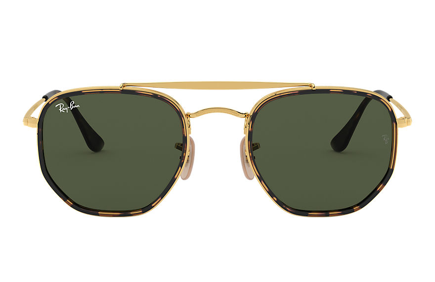 Ray-Ban  sonnenbrillen RB3648M MALE 007 marshal ii gold 8056597073165
