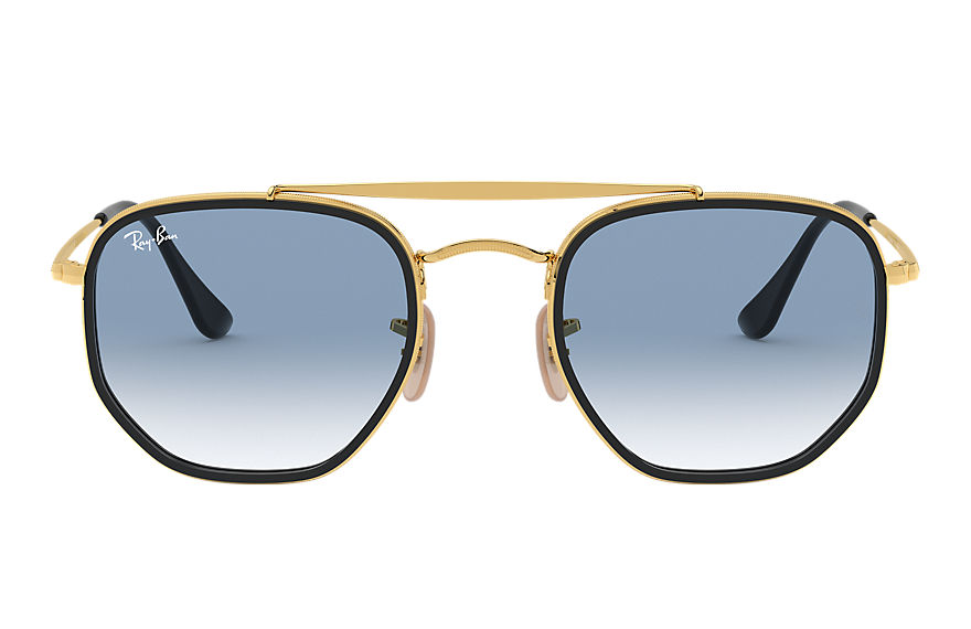 Ray-Ban  sonnenbrillen RB3648M MALE 004 marshal ii gold 8056597073172