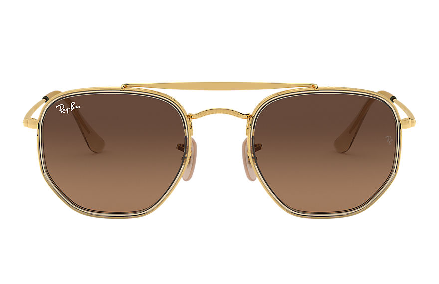 Ray-Ban  sonnenbrillen RB3648M MALE 008 marshal ii gold 8056597073189