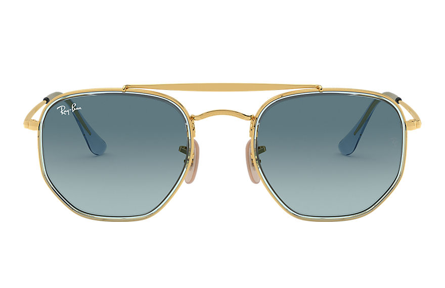 Ray-Ban  sonnenbrillen RB3648M MALE 005 marshal ii gold 8056597073196