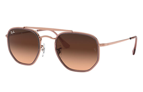 Ray-Ban 0RB3648M-MARSHAL II Bronze-Copper,Pink; Bronze-Copper SUN