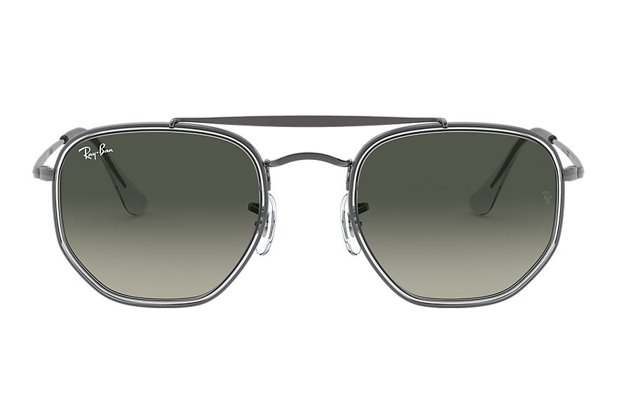Ray-Ban  sonnenbrillen RB3648M MALE 009 marshal ii gunmetal 8056597073219