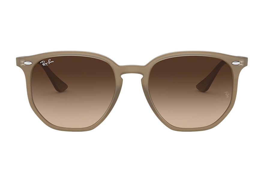 Ray-Ban  sunglasses RB4306F UNISEX 003 rb4306f 浅茶色 8056597075176