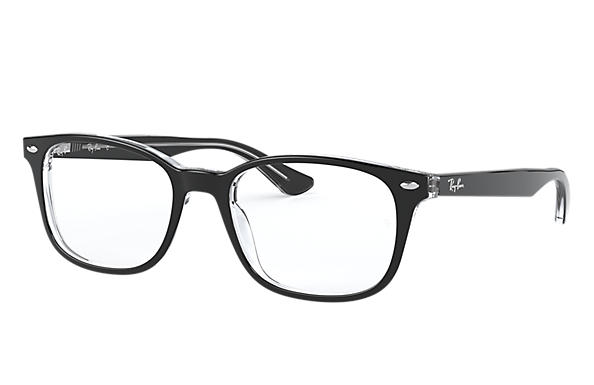 Ray-Ban 0RX5375F-RB5375F Black,Transparent OPTICAL