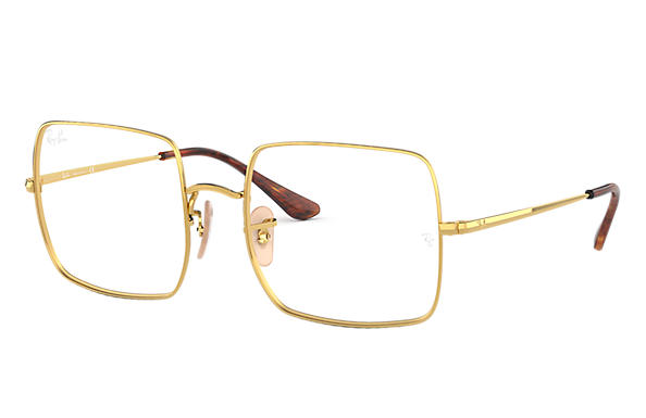Ray-Ban Graduados RAY-BAN SQUARE OPTICS Ouro