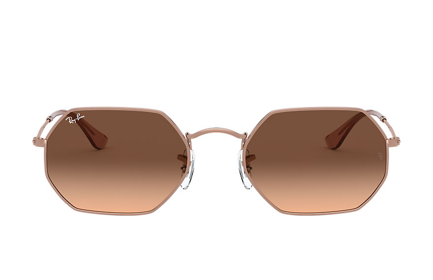 Ray-Ban  sunglasses RB3556N UNISEX 002 octagonal classic bronze copper 8056597077514