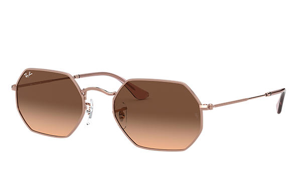 Ray-Ban 0RB3556N-OCTAGONAL CLASSIC Bronze-Copper SUN