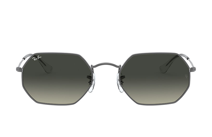 Ray-Ban  sunglasses RB3556N UNISEX 001 octagonal classic 枪色 8056597077521