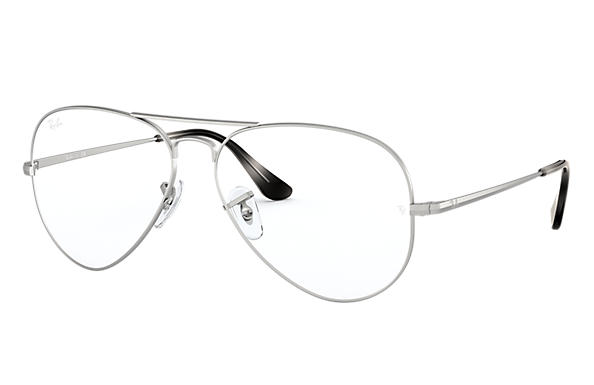 Ray-Ban Eyeglasses AVIATOR OPTICS Silver