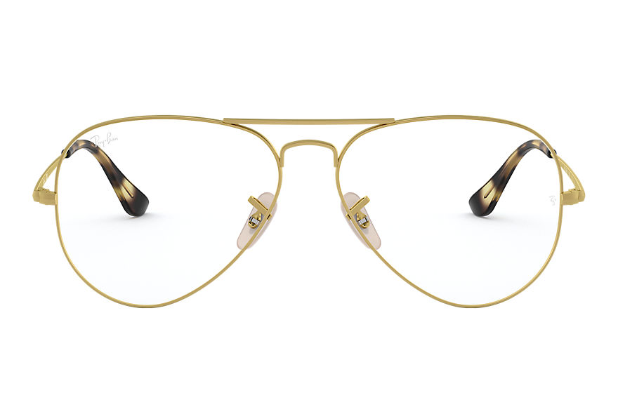 Ray-Ban  eyeglasses RX6489 UNISEX 003 aviator optics gold 8056597079433