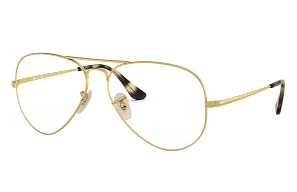 Ray-Ban 0RX6489-AVIATOR OPTICS Ouro OPTICAL