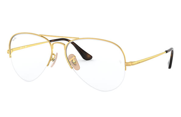 Ray-Ban 0RX6589-AVIATOR GAZE Oro OPTICAL