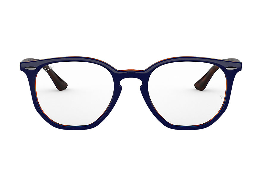 Ray-Ban  eyeglasses RX7151 UNISEX 010 rb7151 hexagonal optics blauw 8056597079600
