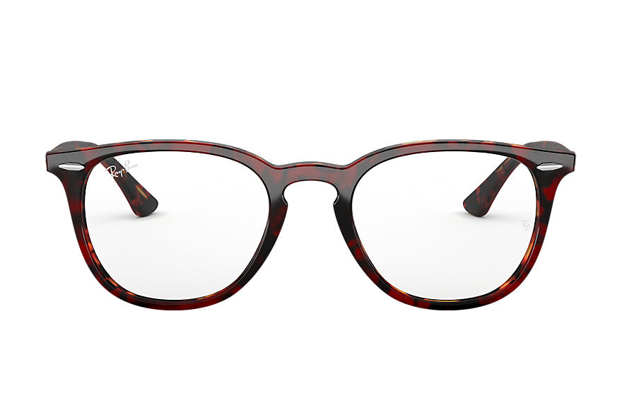 Ray-Ban  eyeglasses RX7159 UNISEX 006 rb7159 transparent red 8056597079709