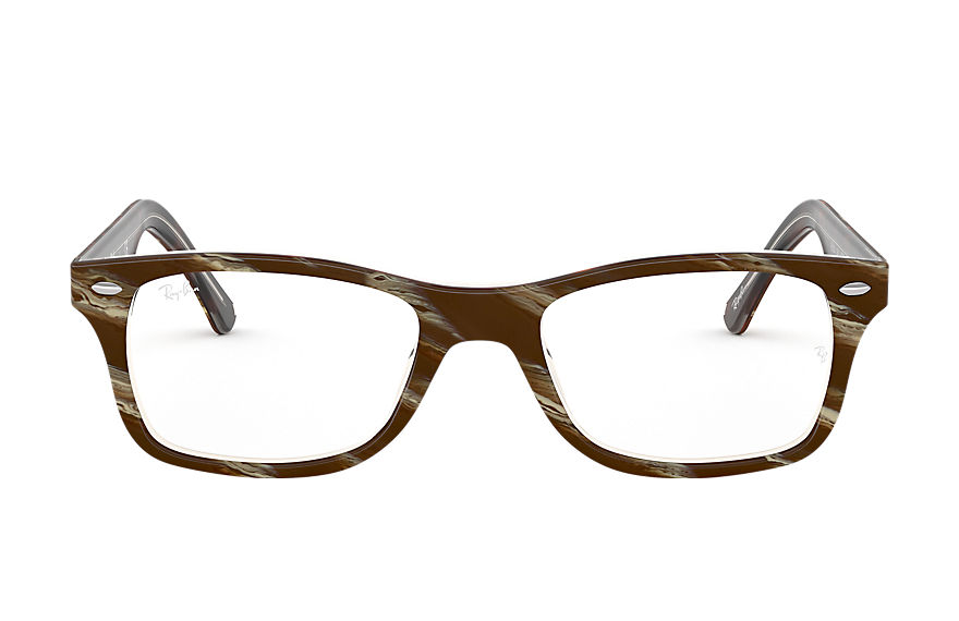 Ray-Ban  eyeglasses RX5228 UNISEX 006 rb5228 striped brown 8056597079792