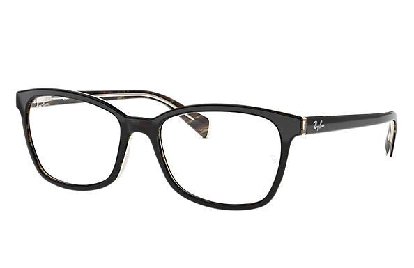 ecd267ad7fa50 Ray-Ban prescription glasses RB5362 Blue - Acetate - 0RX5362577654 ...
