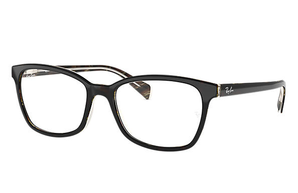 Ray-Ban 0RX5362-RB5362 Negro,Habana; Negro,Marrón claro OPTICAL