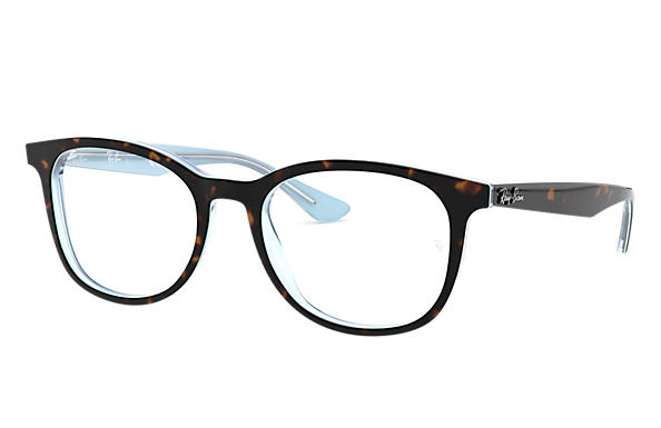 Ray-Ban 0RX5356-RB5356 Tortoise,Light Blue OPTICAL