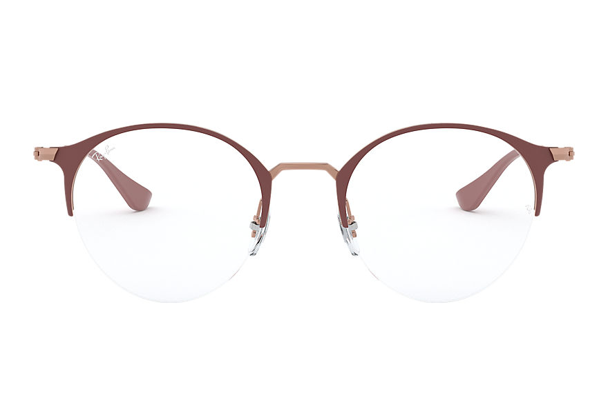 Ray-Ban  eyeglasses RX3578V UNISEX 008 rb3578v brown 8056597079990