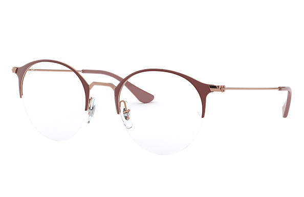 Ray-Ban 0RX3578V-RB3578V Brown,Bronze-Copper; Bronze-Copper OPTICAL