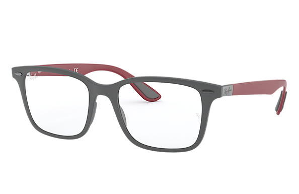 Ray-Ban 0RX7144-RB7144 Grey; Red OPTICAL