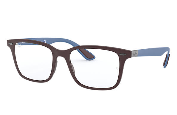 Ray-Ban 0RX7144-RB7144 Violet; Light Blue OPTICAL
