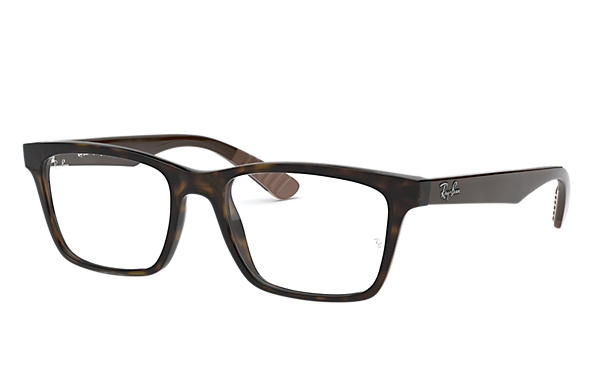 Ray-Ban 0RX7025-RB7025 Tortoise; Brown OPTICAL