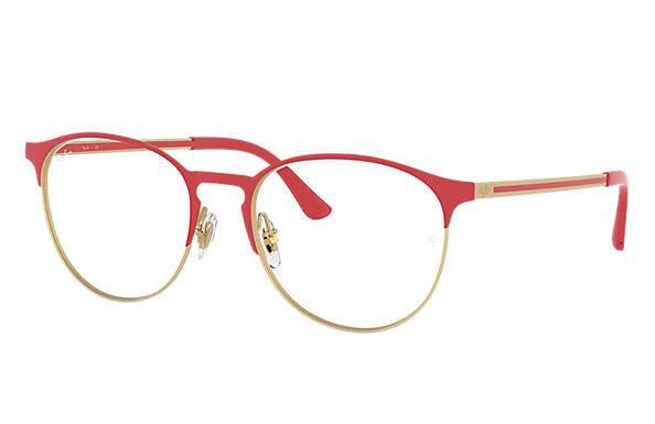 Ray-Ban 0RX6375-RB6375 Red,Gold; Gold,Red OPTICAL