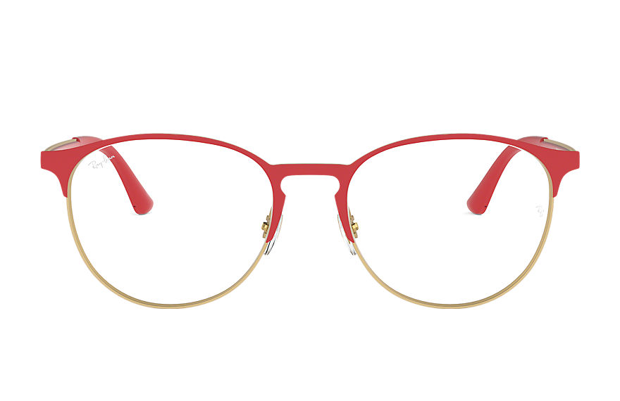 Ray-Ban  eyeglasses RX6375 UNISEX 010 rb6375 red 8056597080743