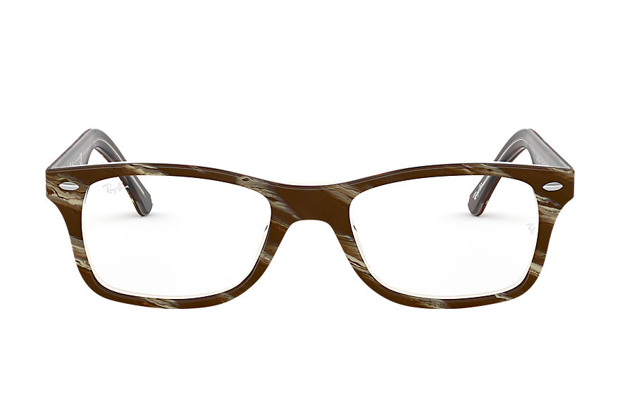 Ray-Ban  eyeglasses RX5228F UNISEX 005 rb5228f striped brown 8056597080934