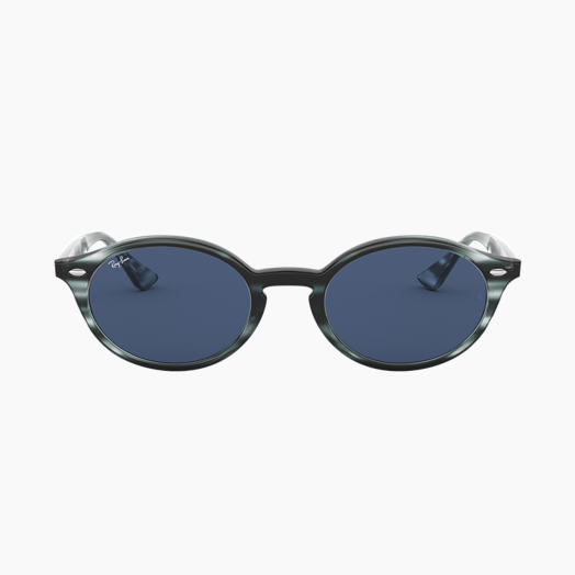 6e071cc2f609a5 Ray-Ban RB4315 Striped Blue Havana mit Dunkelblau Klassisch Gläsern