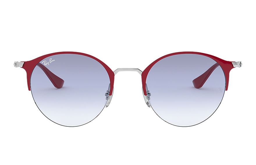 Ray-Ban  occhiali da sole RB3578 UNISEX 008 rb3578 bordeaux 8056597081474