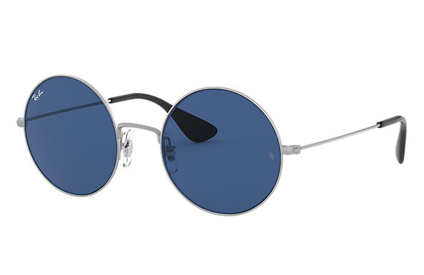 Ray-Ban Sunglasses JA-JO Silver with Dark Blue Classic lens