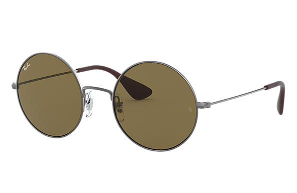 Ray-Ban Sunglasses JA-JO Gunmetal with Brown Classic B-15 lens