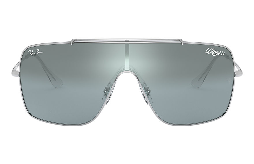 Ray-Ban  sunglasses RB3697 MALE 003 wings ii silver 8056597087117
