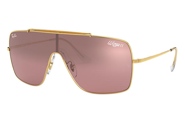 Ray-Ban 0RB3697-WINGS II Oro SUN