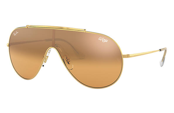 Ray-Ban 0RB3597-WINGS Gold SUN