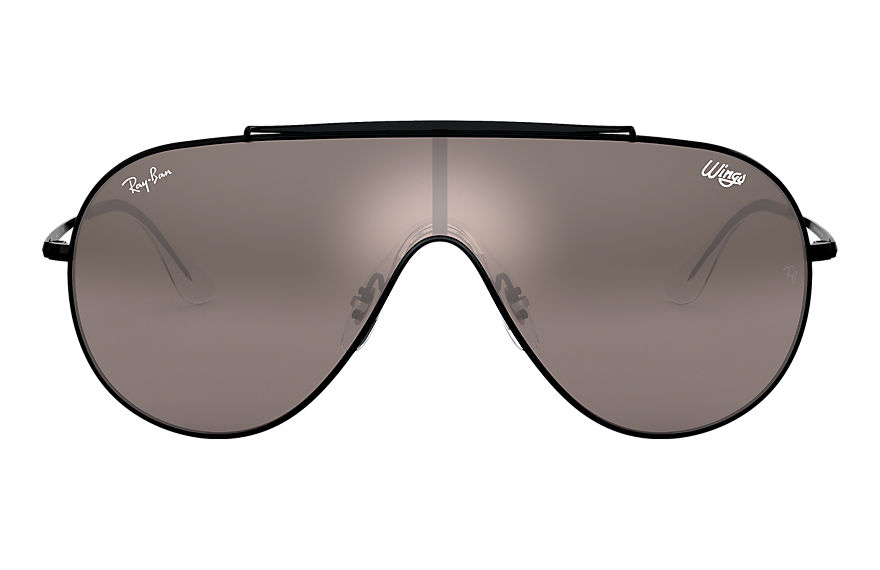 Ray-Ban  occhiali da sole RB3597 UNISEX 010 wings nero 8056597087261