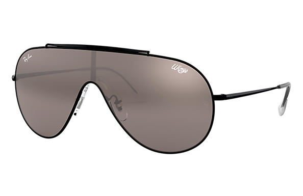 Ray-Ban 0RB3597-WINGS Schwarz SUN