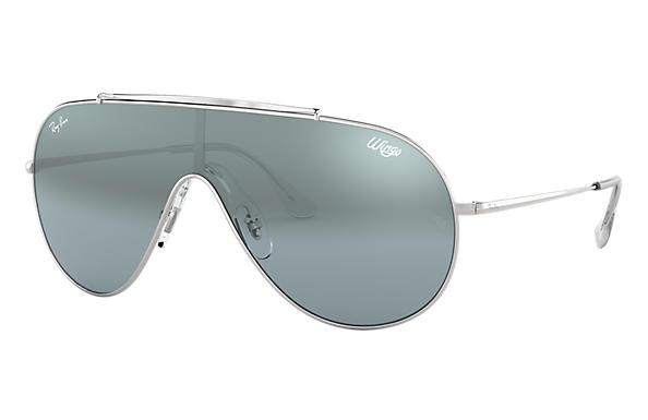 Ray-Ban 0RB3597-WINGS Silber SUN