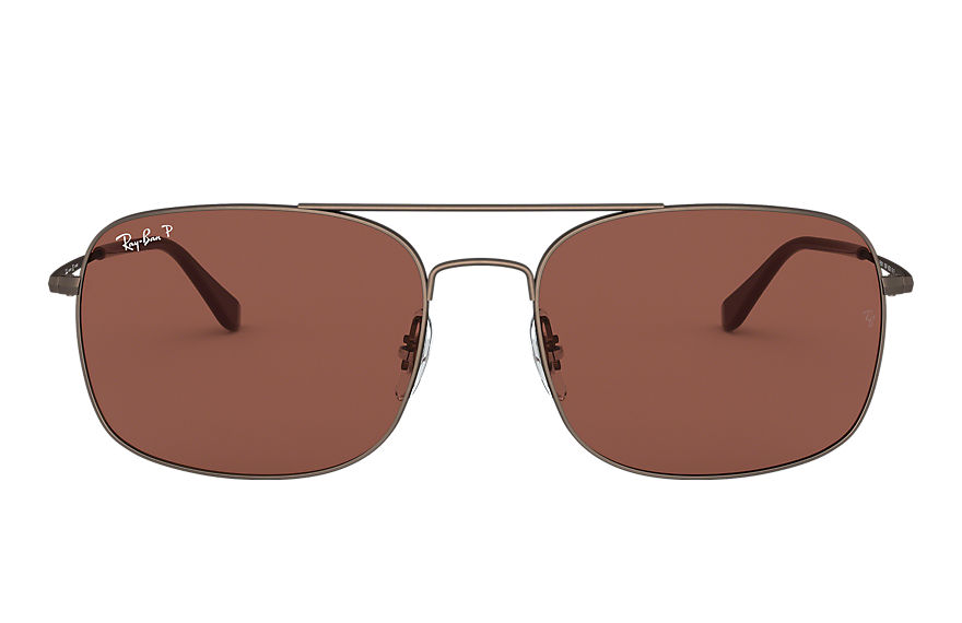 Ray-Ban  occhiali da sole RB3611 UNISEX 005 rb3611 marrone 8056597092067