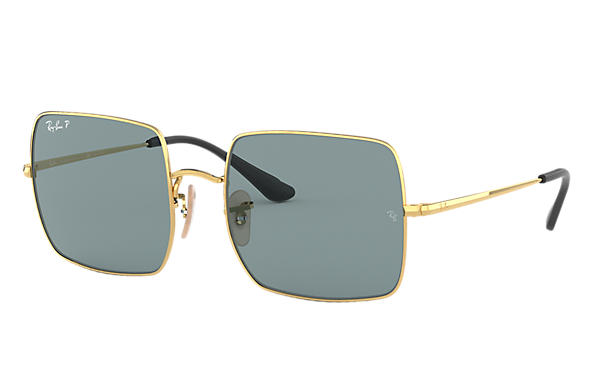 0806f9f83c73e9 Ray-Ban Square By Peggy Gou RB1971 Goud - Metaal - Grijs ...