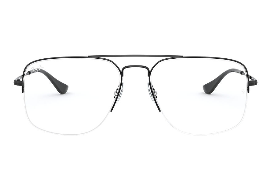 Ray-Ban  eyeglasses RX6441 MALE 001 general gaze black 8056597096744