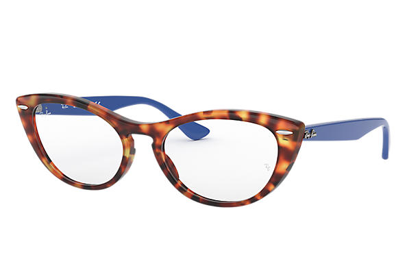 Ray-Ban 0RX4314V-NINA OPTICS Havana; Blau OPTICAL