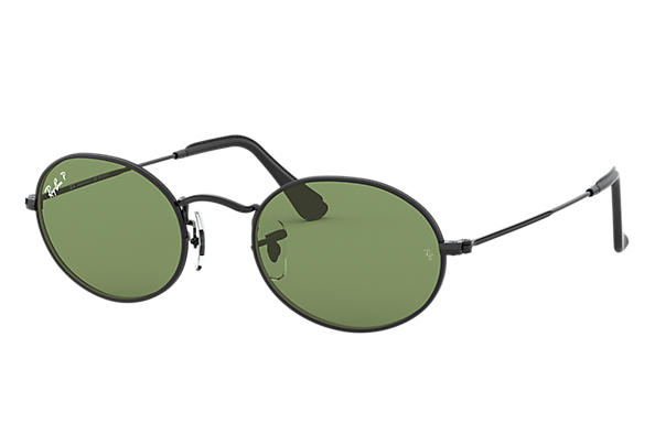 Ray-Ban 0RB3547-OVAL @Collection Czarny SUN