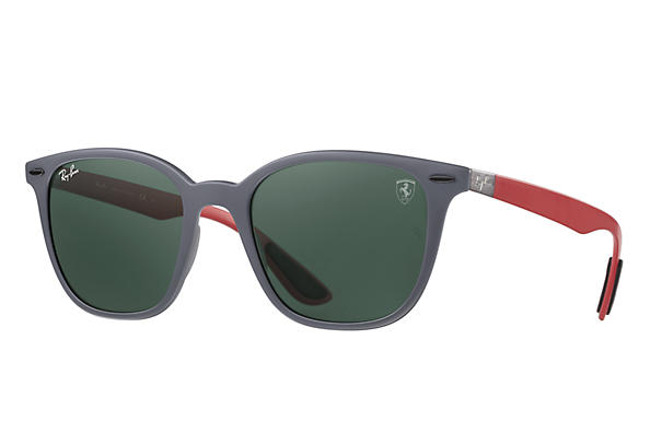 Ray-Ban RB4297M SCUDERIA FERRARI UK LIMITED EDITION Grey with Green Classic lens