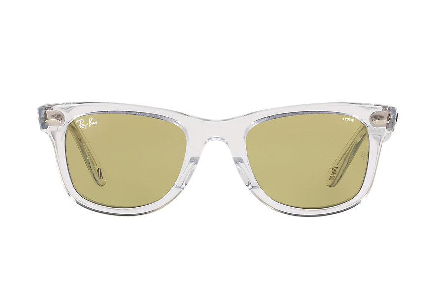 Ray-Ban Sunglasses Ray-Ban Studios x Primavera Sound Transparent with Green Photochromic Evolve lens